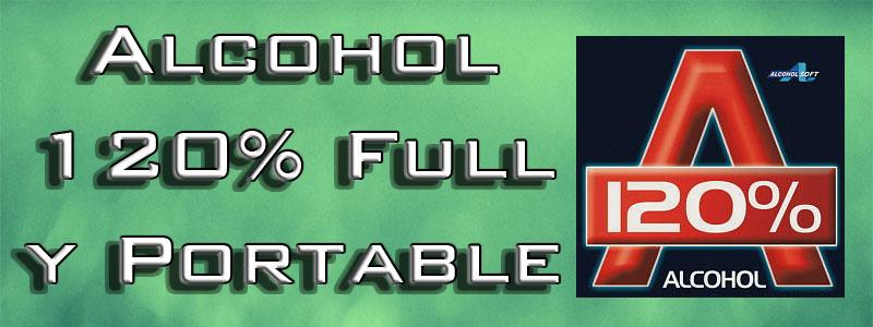 Descargar Alcohol 120% full y portable